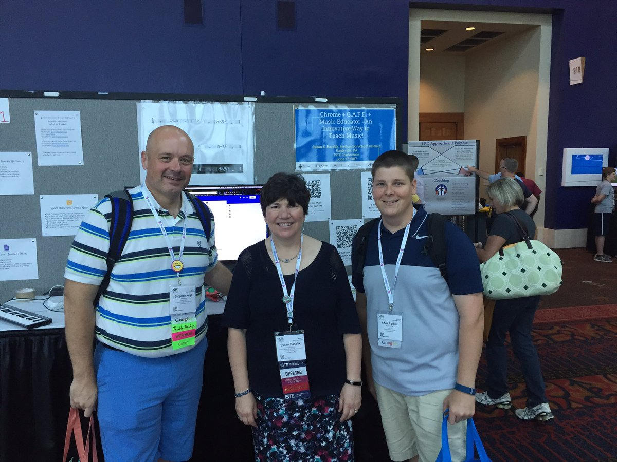 More #musiced at #ISTE17. Great ideas for #MusicEdTech @suecellobike!<br>http://pic.twitter.com/gTKeNEzYWi