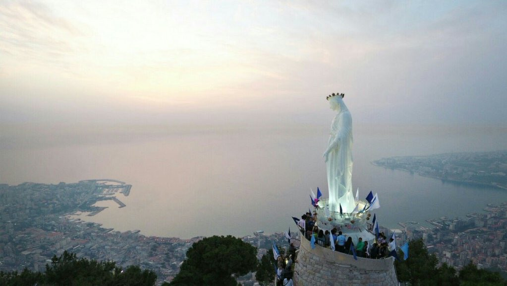 Our Lady of Lebanon  #LEBANON #لبنان Photo by @PEliekorkomaz<br>http://pic.twitter.com/YOwdHrGe67