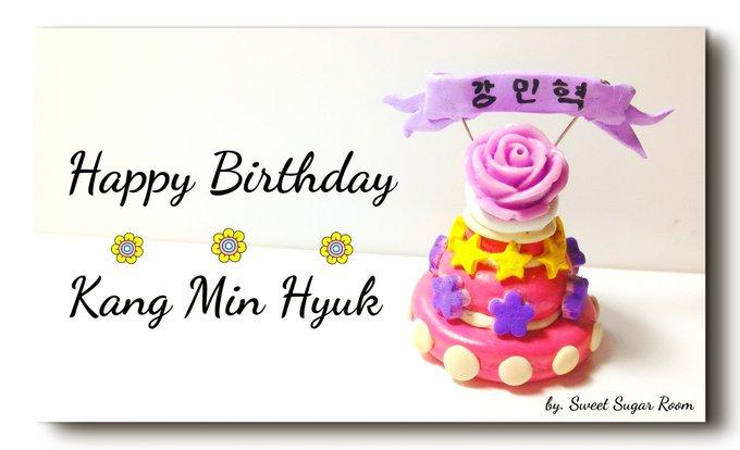 Happy birthday Kang Min Hyuk.