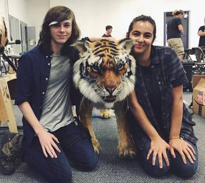 Happy Birthday Alanna Masterson and Chandler Riggs