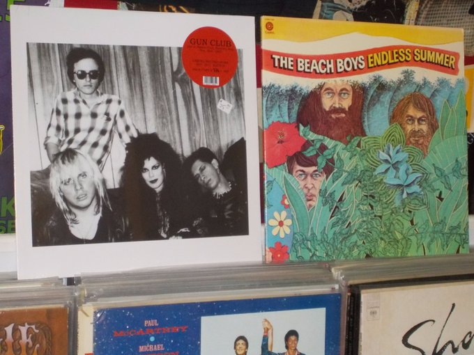 Happy Birthday to the late Jeffrey Lee Pierce of Gun Club & Bruce Johnston of the Beach Boys