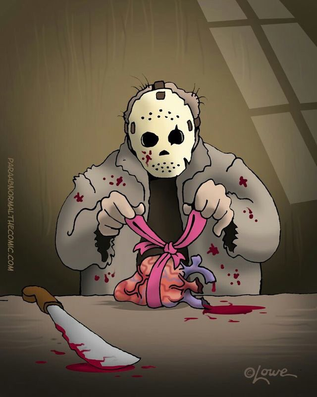 You&#39;re all awesome and I luv all of ya, in an odd way of course  #horrorFam #horror <br>http://pic.twitter.com/Fa5oDCsoQD