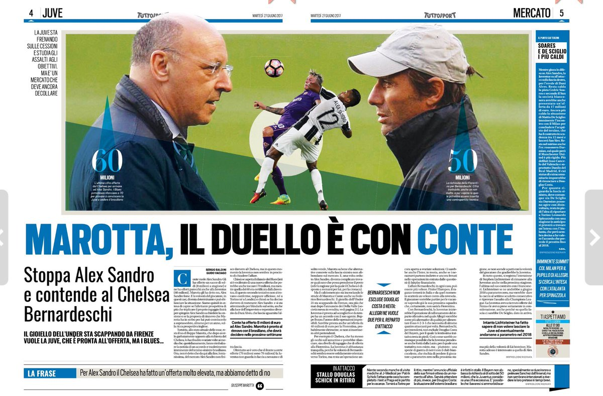 Lack of alternatives for both clubs means Chelsea need to go all in for target. #cfc #juve  http:// sportwitness.co.uk/lack-alternati ves-clubs-means-chelsea-need-go-target/ &nbsp; … <br>http://pic.twitter.com/Udx2wm49Ab