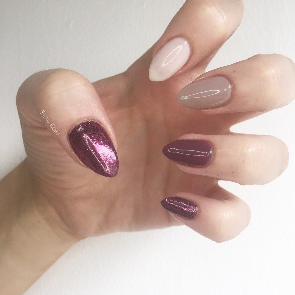 Mixed up Mauve #BeauBelle #MarriedToMauve #Shellac #CND #Nails @cndworld<br>http://pic.twitter.com/T79v8lJ0mH