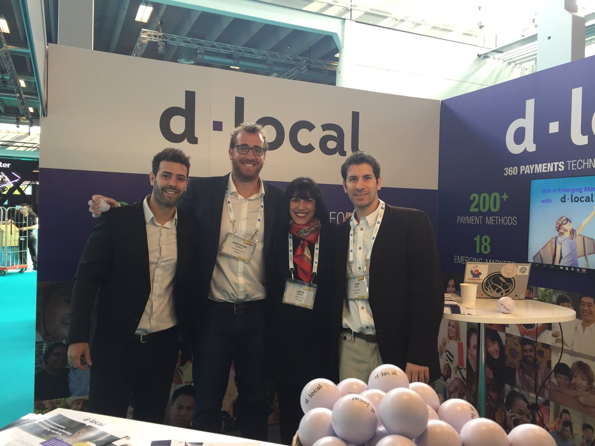 """dLocal on Twitter: """"#Money2020EU Our handsome-looking team is dying to talk  to you about emerging markets #payments. Booth G11 #crossborder #fintech…  https://t.co/0ZXvOPVAvh"""""""