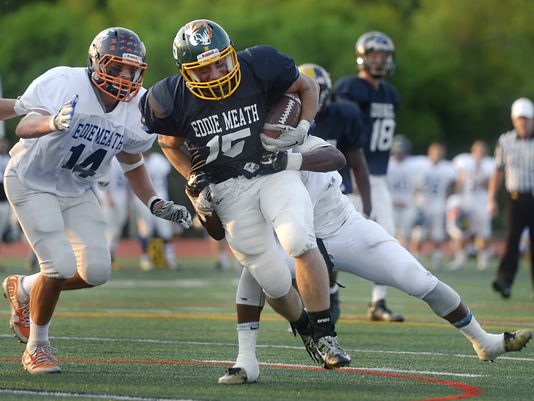.@DandC High School #Football  * @SectionVFB has sent corrected Eddie Meath All-Star Rosters, with #cheerleaders -  http:// on.rocne.ws/2rRmJBM  &nbsp;  <br>http://pic.twitter.com/GSnY3ERFgj