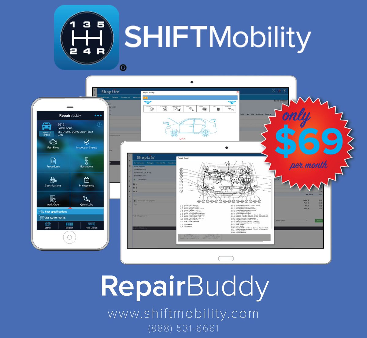 Want repair data in the palm of your hand try repairbuddy http