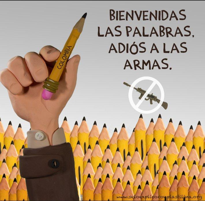 #AdiosALasArmas #DejacionDeArmas https:/...