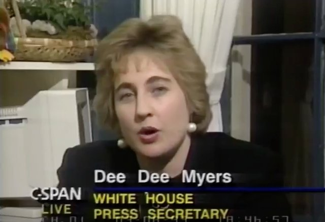 Clinton White House in 1993: On-Camera Press Briefings 'Aren't Really Necessary https://t.co/jy5HRbd2qc