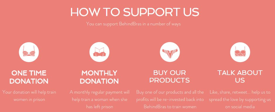 Buy a bra, donate and sponsor #WomenBehindBars  http:// bit.ly/2rRld5n  &nbsp;   #BehindBras #Womens @CIAOcoaches @Brthcompanions @Womensmarch @BITC_…<br>http://pic.twitter.com/tmY5LmhMMO