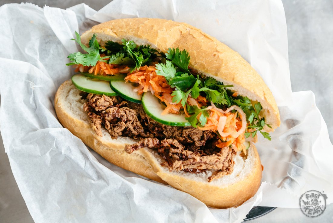 What happens when the po' boy and banh mi combine forces? Food Grails...