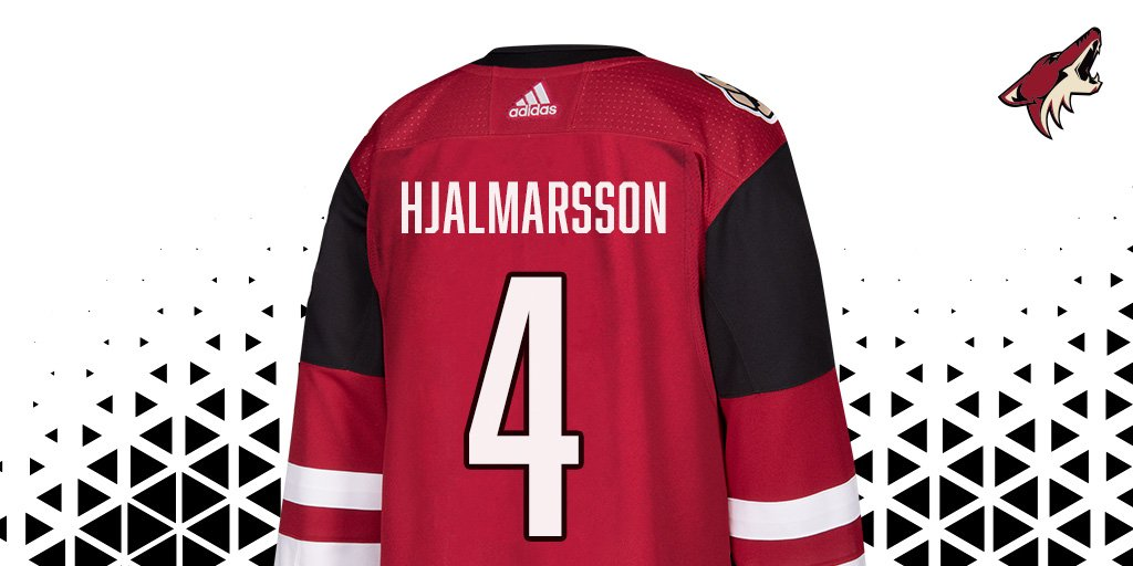 Looks good, doesn't it?  @hammarenfyra will make his #Yotes debut in #...