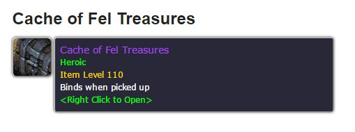 Don&#39;t forget to pick up the weekly quest to do 4 mythic dungeons to receive a heroic item from Tomb of Sargeras this week! #warcraft <br>http://pic.twitter.com/eETZaQ6wBB