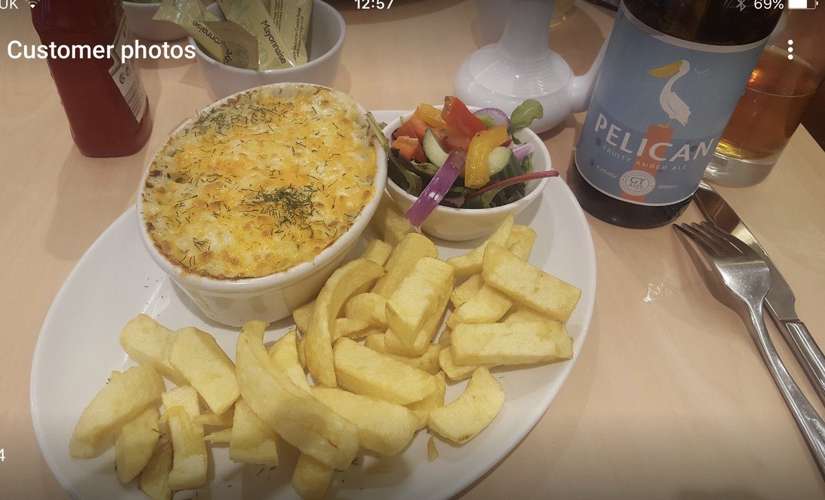 This is no ordinary #fish pie &amp; award winning #homemade chips. This is an @MSCintheUK fish pie with #AwardWinning winning home-made #chips !<br>http://pic.twitter.com/cYglxfiFbV