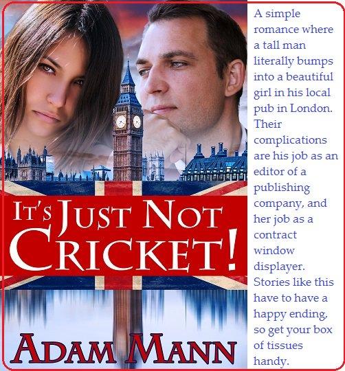 When a beautiful girl makes up her mind…   https://www. amazon.com/Its-Just-Crick et-Adam-Mann-ebook/dp/B014JX416M &nbsp; …   https://www. barnesandnoble.com/w/its-just-not -cricket-adam-mann/1122583520 &nbsp; …   http://www. mundania.com/book.php?title =It&#39;s+Just+Not+Cricket &nbsp; … ! #Romance #Humor #MFRWorg<br>http://pic.twitter.com/bJiDiGZ0u8