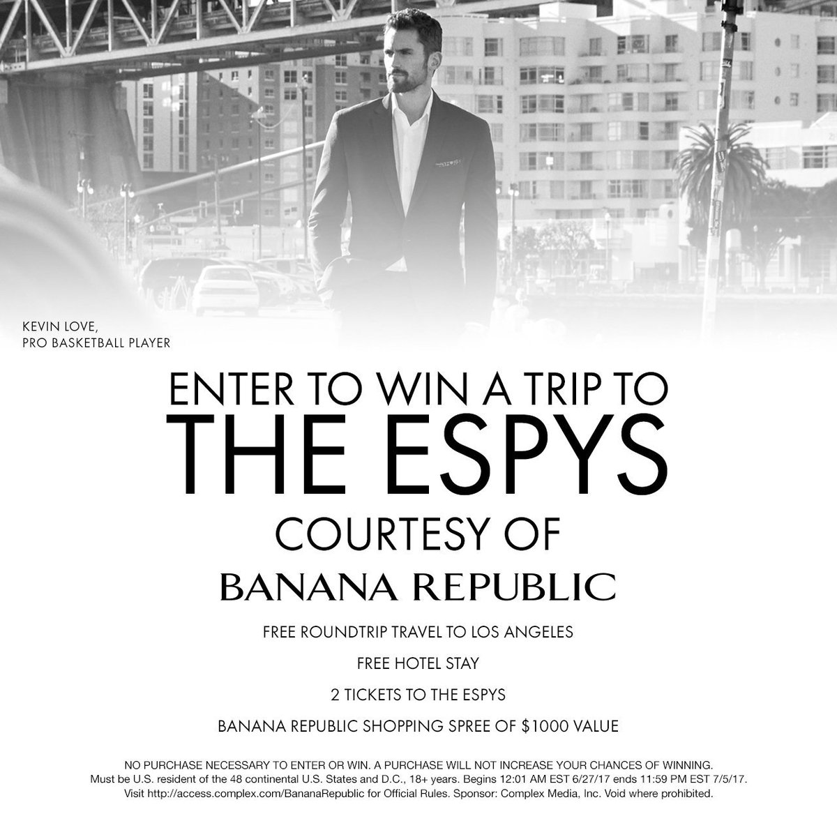 Take your shot at winning a fly away to LA for the ESPYs --> https:...