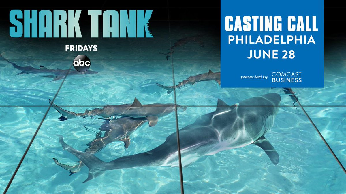 SHARK TANK Fans:  Polish up your pitch!  It's your chance to wow ABC's SHARK TANK Casting, coming on Wednesday!   https://t.co/CypUGLkVgV
