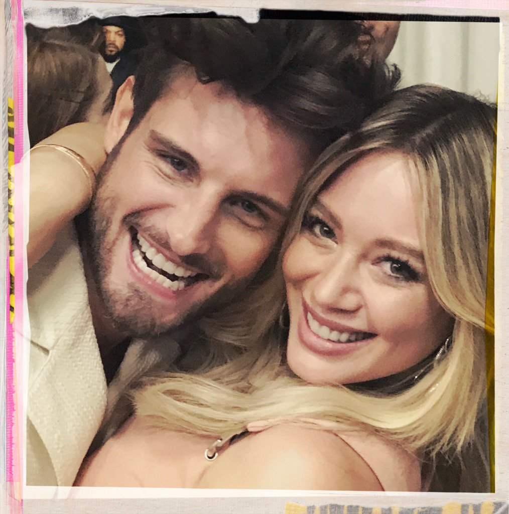 Beauty and the.... well, beauty. @HilaryDuff @_NicoTortorella #Younger...