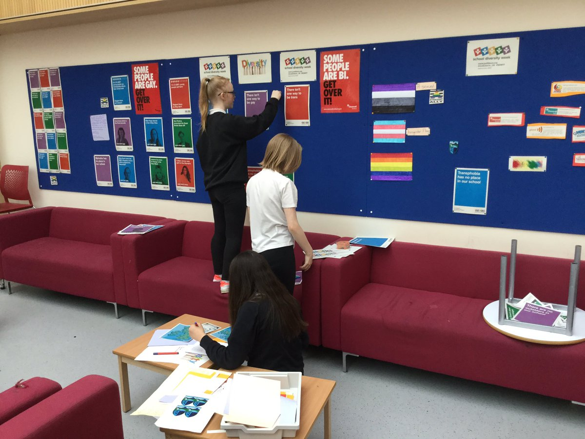 Impressive work! Promoting diversity at #KemnayAcademy. Well done to the LGBT group. #citizenship <br>http://pic.twitter.com/I7XY0qucsv