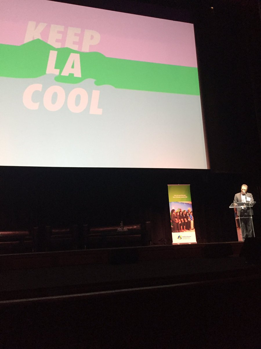 &quot;When the feds go low, we go local&quot; - @jparfrey at #climatedayla Let&#39;s #keepLAcool with local #climate solutions! <br>http://pic.twitter.com/vC4UXh0UyK
