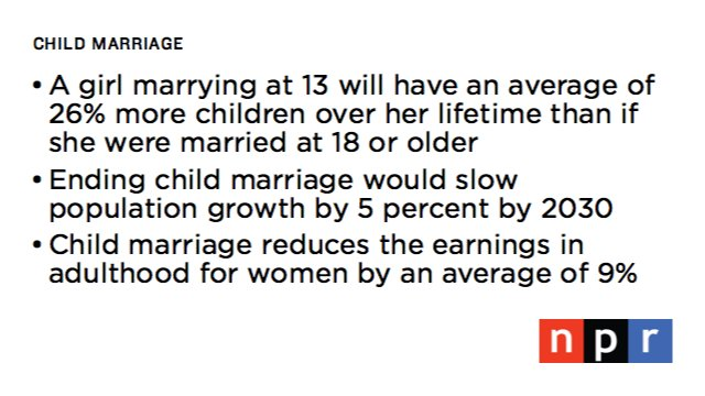 positive effects of child marriage