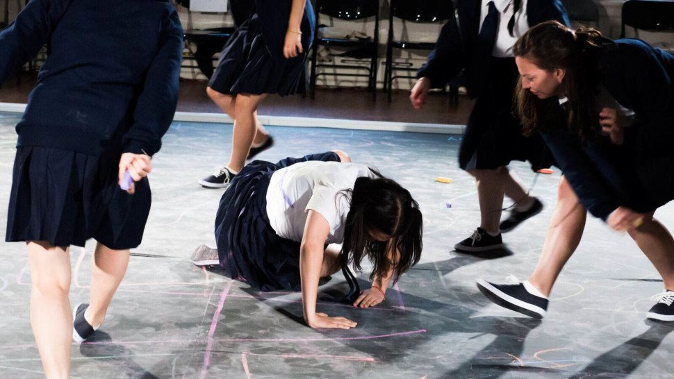 See photos from the Julius Caesar production set in an all-girls high...