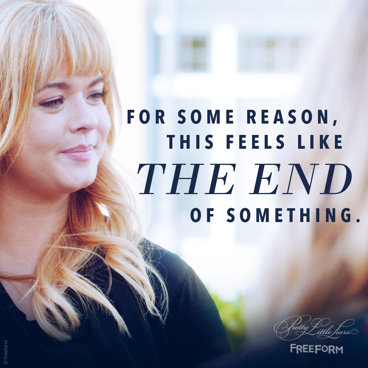 The end of an incredible 7 seasons. 💘 #PLLFinale #PLLGameOver https://...