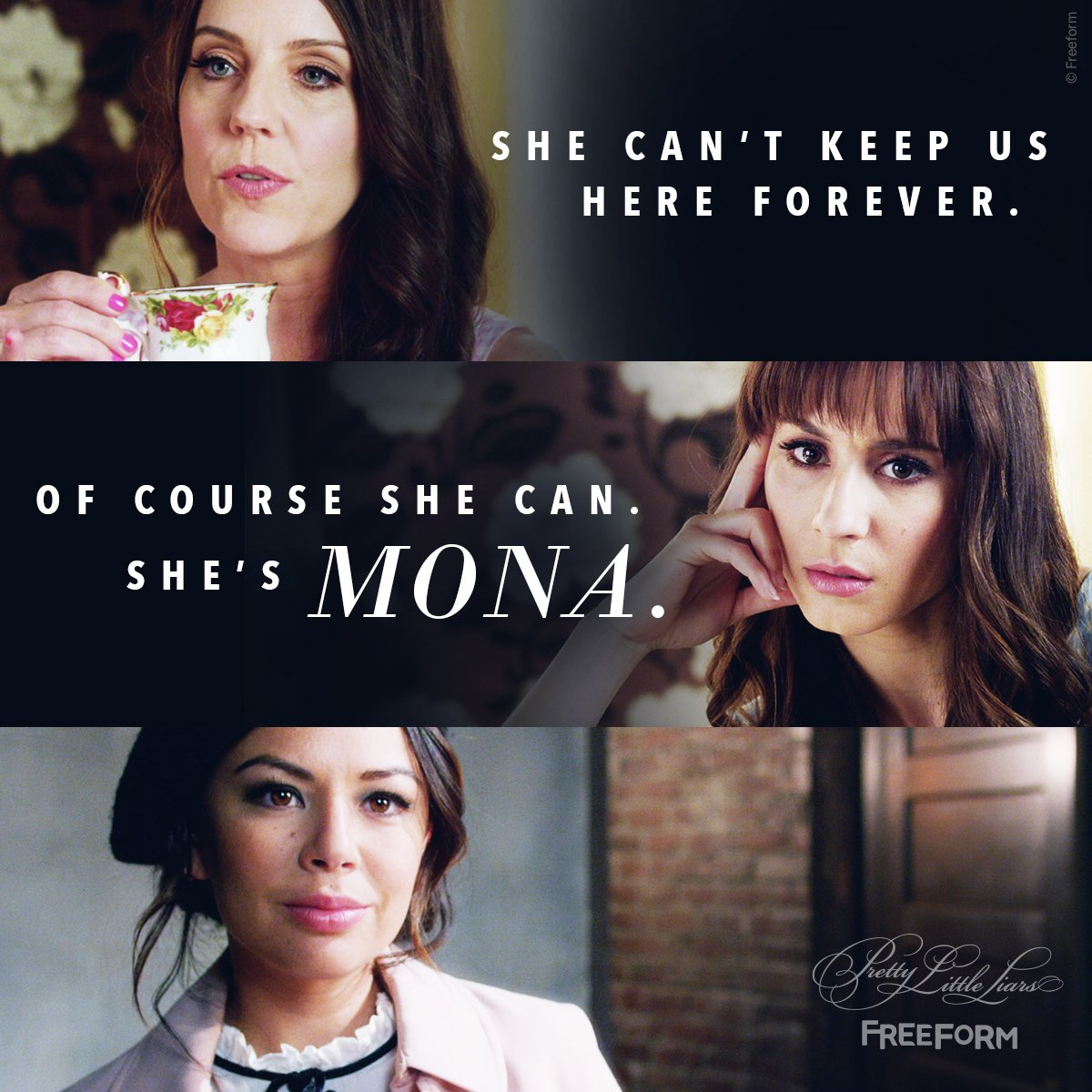 Forever in Mona's world. #PLLFinale #PLLGameOver https://t.co/vxtMS10I...