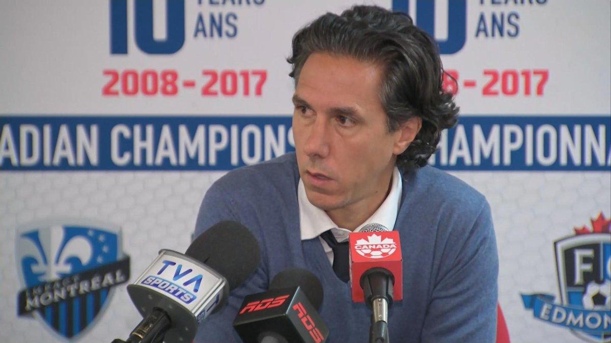 À VOIR | Mauro Biello fustige les arbitres en point de presse! #IMFC #...