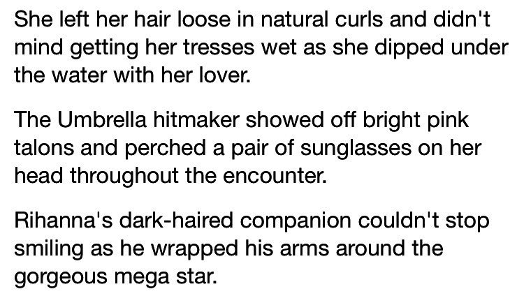 daily mail does riri fan fiction, just like you