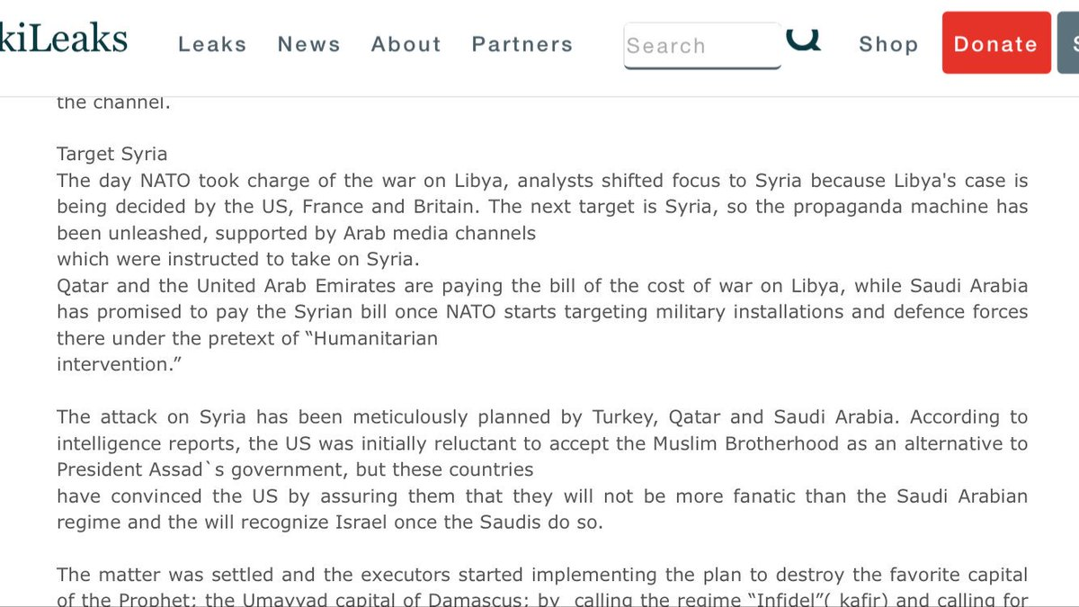 Target #Syria  https:// wikileaks.org/syria-files/do cs/2104442_fw-syria-in-the-eyes-of-a-storm.html &nbsp; … <br>http://pic.twitter.com/BKpTkbpLoi