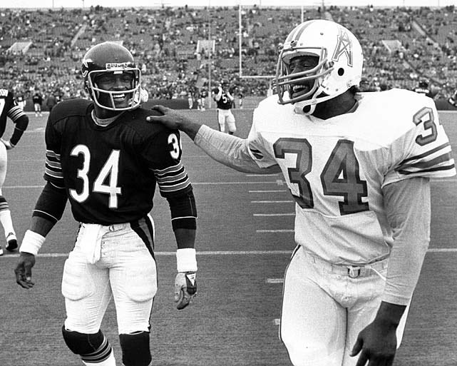 My two favorite running backs of the 70s.