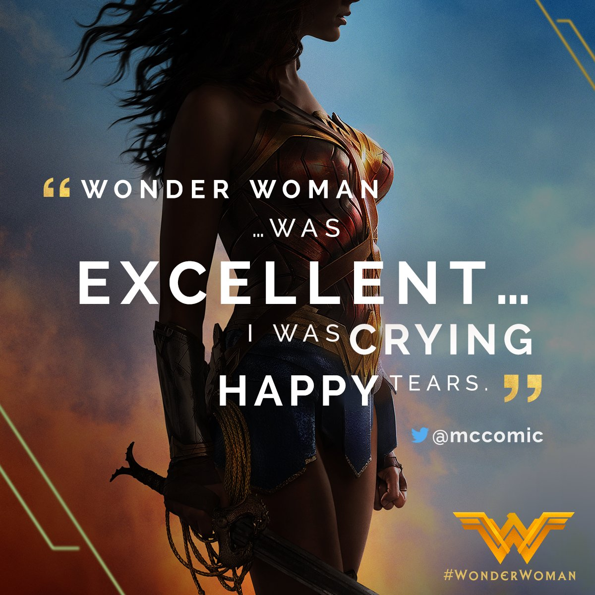 #WonderWoman will inspire you. Now playing everywhere. Get tickets: ht...