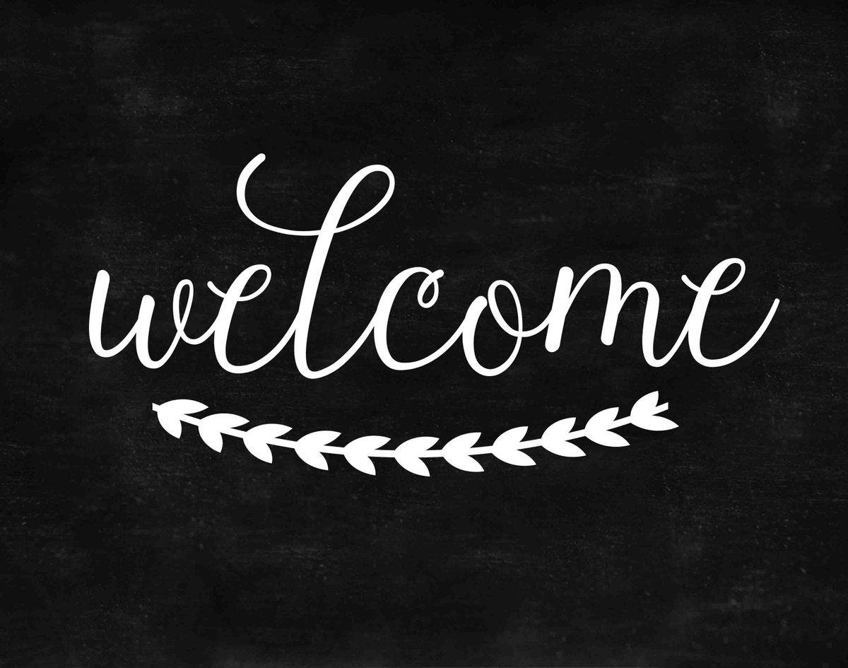 It is a picture of Dramatic Free Printable Welcome Sign