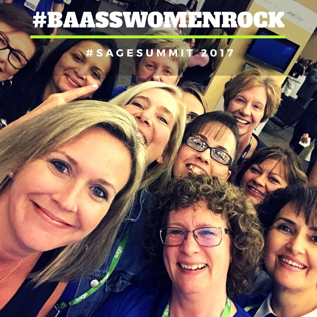 This picture can be explained with just a few hashtags: #BAASSWomenRoc...