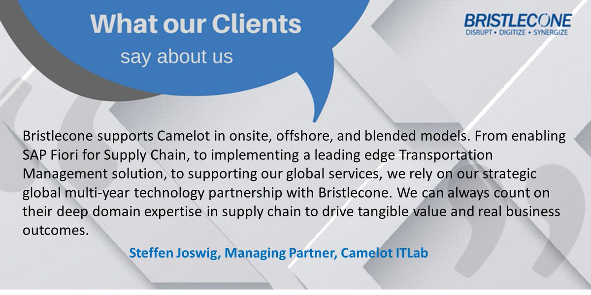 Steffen Joswig @CamelotITLab talks about our #strategic global multi-year tech partnership- http:// hubs.ly/H07WPCq0  &nbsp;  . #CustomerTestimonial<br>http://pic.twitter.com/cE3wx5cZpL
