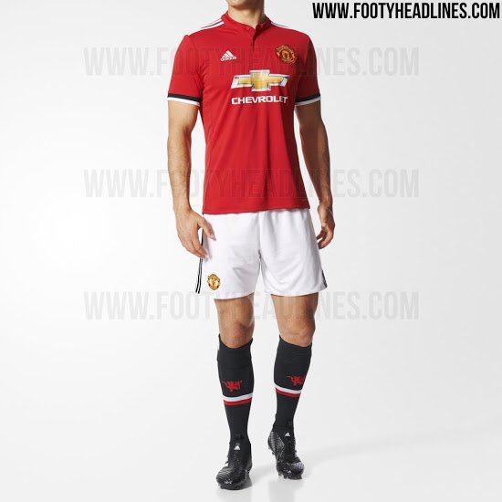Manchester United&#39;s 2017/18 home kit. #MUFC <br>http://pic.twitter.com/WPx6nbER33