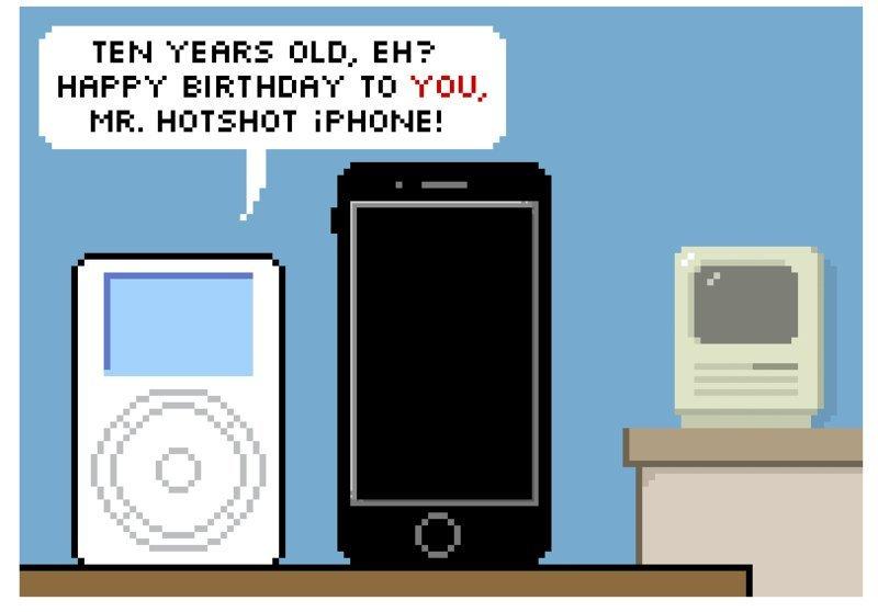 10 anni fa l'iPhone cambiava il mercato degli smartphone
