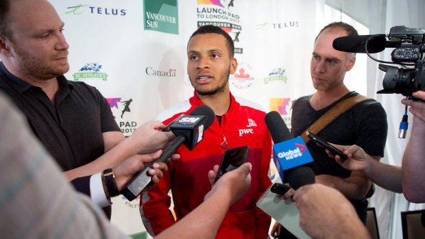 'Go out there and beat him': Andre De Grasse's plan to end talk about...