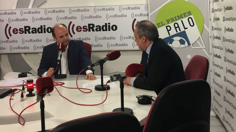 Florentino Pérez: '¿Acuerdo con Sandro? Primera noticia que tengo' htt...