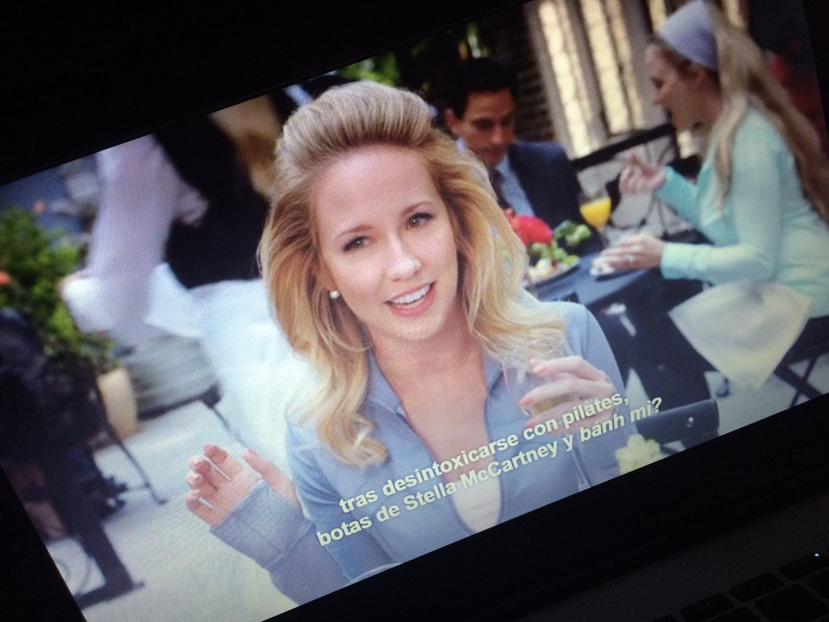 Why I didn&#39;t know that @TheRealAnnaCamp was on #UnbreakableKimmySchmidt ?! You gotta love her!  <br>http://pic.twitter.com/94oI6XnnSh