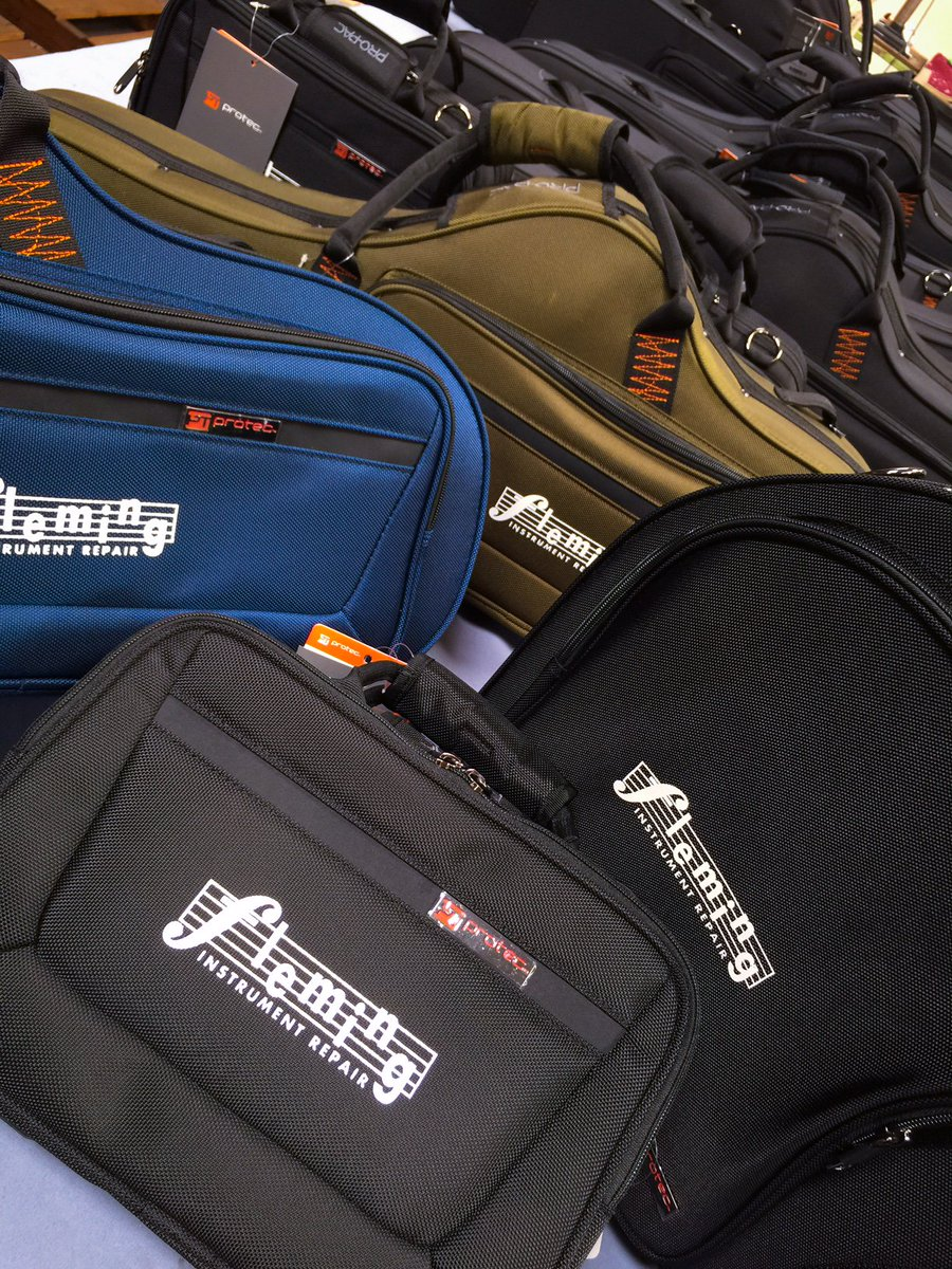Custom logo #PROPAC cases headin' out to #FlemingInstrumentRepair  in #Houston #Texas !  #clarinet #frenchhorn #trombone #cases #protecstyle<br>http://pic.twitter.com/lfrRbGczON
