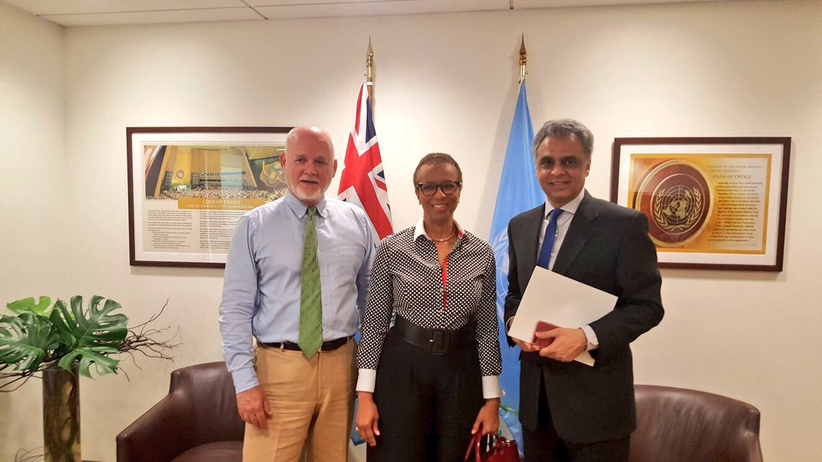 Discussed issues related to #UNSC reform with Ambassador Rhonda King  of St Vincent and the Grenadine &amp; Ambassador Syed Akbaruddin of #India<br>http://pic.twitter.com/267aMmUnNx