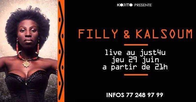 Spectacle Music &amp; Danse  Filly &amp; Kalsoum  29.06.2017  21H  Just4U  772489799 #DakarOut #Dakar #Senegal <br>http://pic.twitter.com/Uss3TtIA2a