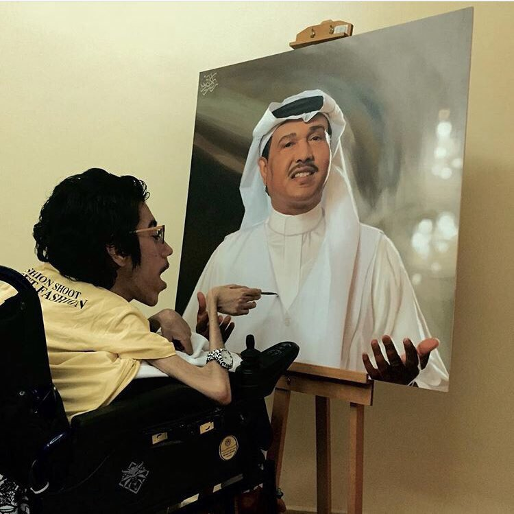 #حفل_فنان_العرب_جده لوحة لـ فنان العرب #...