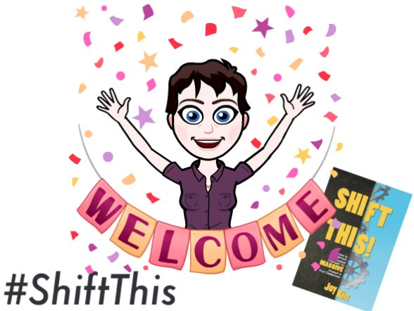 Welcome to #ShiftThis! Tonight we talk about student-directed learning (#geniushour) and resistance to this type of education. #ShiftThis https://t.co/D2raftLkuL