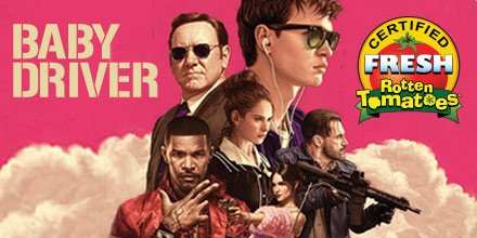 Stylish, exciting, and fueled by a killer soundtrack #BabyDriver is no...
