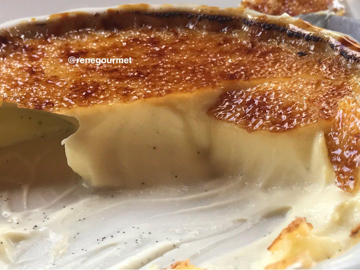 What a creme brulee. #dessert #postre #cremebrulee #france #renegourmet<br>http://pic.twitter.com/7570vKmx0P