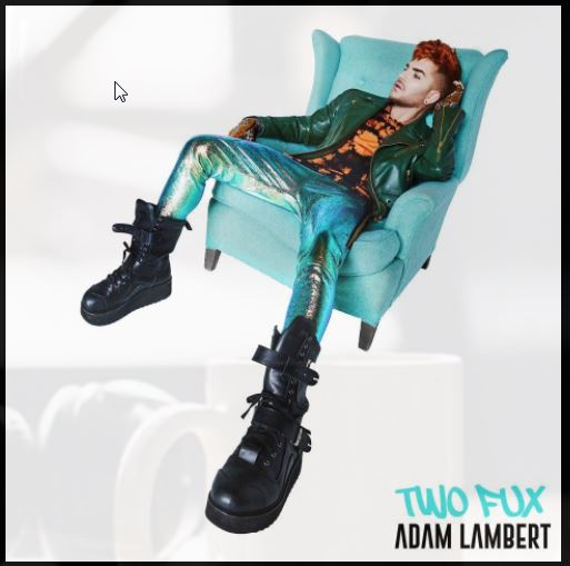 Got an early stream of @AdamLambert's new song, here's my two (fux) ce...