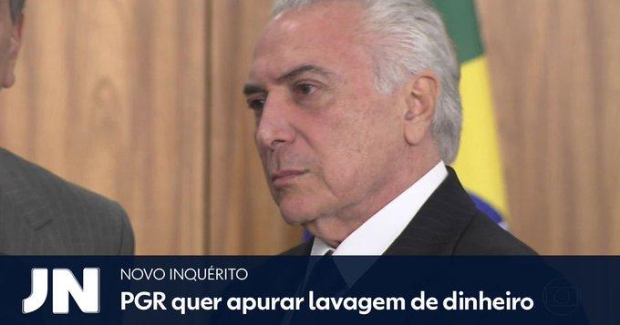 Após denúncia por corrupção passiva, Rodrigo Janot deve apresentar novas denúncias contra o presidente Temer: https://t.co/TEdC7YrzIG